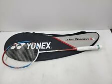 Yonex ARCSABER FD Badminton Racket Racquet White String with Cover