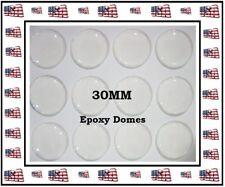 90) 30MM Epoxy Sticker 30MM Epoxy Domes DIY Scrapbook Bottlecaps Jewelry Blanks