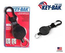 """Key-Bak MID6 Retractable Key Belt Loop Standard Duty - 36"""" Polyester / 6 oz"""