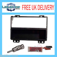 Ford Fiesta 2002 - 2005 Negro Single DIN Panel Facia Panel de montaje Paquete Kit