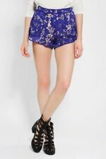 CAMEO Blue Lace 'Brakelight' Shorts Size Small S - Worn Once