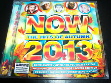 Now Hits Of Autumn 2013 CD Avicii Birds Of Tokyo Pez The Killers Bastille Zedd