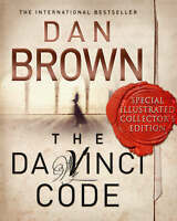 The Da Vinci Code: The Illustrated Edition by Dan Brown, Good Book (Hardcover) F