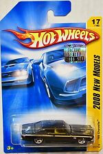 HOT WHEELS 2008 NEW MODELS '69 CHEVELLE #17/40 BLACK FACTORY SEALED