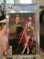 Cgc 9.8 2020 DCEASED: DEAD PLANET #6 ( VARIANT COVER )