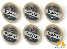 "WALKER Duo-Pro Hair Extensions Tape Roll 1/4"" x 6 yards wig hairpiece - 6 rolls"