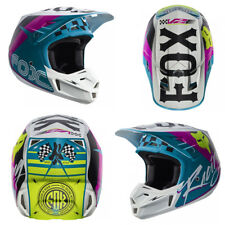 FOX V2 RHOR MOTOCROSS MX HELMET - TEAL enduro bike mtb bmx