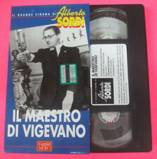 VHS film IL MAESTRO DI VIGEVANO Il grande cinema di ALBERTO SORDI (F107) no dvd