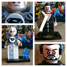 71020 Jor-El #16 & General Zod #17 LEGO BATMAN MOVIE Series 2 Minifigures SEALED