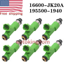 6X Fuel injectors for 09-10-11-12-13-14 Nissan Murano 3.5L V6 16600JA00A US Ship