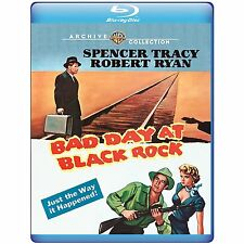BAD DAY AT BLACK ROCK (Spencer Tracy) - BLU RAY - Sealed Region free for UK