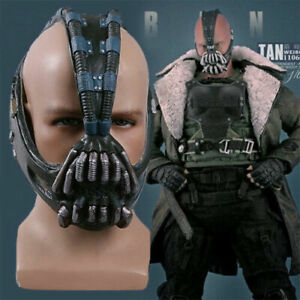 The Dark Knight Rises Bane Masks Latex Half Face Mask Cosplay Party Prop