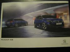 PEUGEOT 308 OWNERS MANUAL HANDBOOK 2014-2017  INCLUDES Protective Wallet