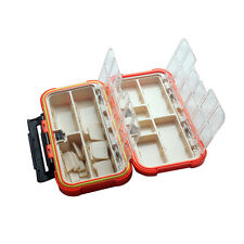 Waterproof Fishing Lure Tackle Bait Case Storage Box Plastic Case 24 Compartment