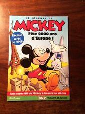 W.DISNEY/LE JOURNAL DE MICKEY FÊTE 2000 ANS D'EUROPE PUB BNP PARIBAS