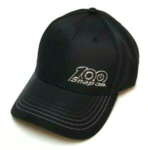 *NEW* Snap On Tools 100th Anniversary Black/Silver Baseball Hat/Cap