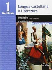 (15).LENGUA CASTELLANA LITERATURA 1º BACH.. ENVÍO URGENTE (ESPAÑA)