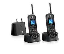 Motorola MOTO-O212 Rugged Waterproof 1/2 Mile Long Range 2 HS Cordless Phone NEW