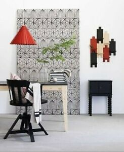 Ikea RYSSBY Hanging Red Wood Pendant Light - DIY Light NEW