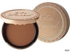 TOO FACED Soleil Matte Bronzer DARK CHOCOLATE ~ Brand New In Box!
