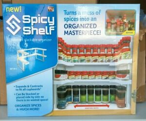 Spicy Shelf Patented Stackable Organizer (NEW) As Seen On TV!