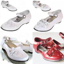Blumenmädchen Kommunionsschuhe Festkleid Schuhe Mädchen Hochzeit Taufe Gr.24-35