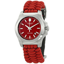 Victorinox I.N.O.X. Paracord Red Dial Mens Watch 241744