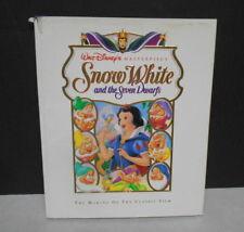 Walt Disney Masterpiece SnowWhite & The Seven Dwarfs Making of the Film Book