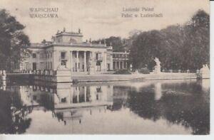 Ansichtskarte Polen Warschau Palast von Lazienkach 1916 Feldpost