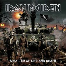 Iron Maiden-A Matter Of Life And Death Vinyl LP Sticker or Magnet