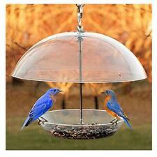 Woodlink NABBFDR Dome Top Seed & Bluebird Bird Feeder