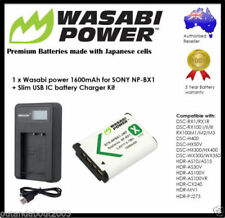 NP-BX1 Li-Ion Camera Batteries with Charger