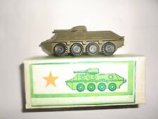 Vintage Russian USSR Diecast military vehicles, tanks, BTR-60 PB