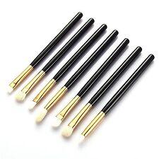 Blackgold Ojo esencial Sombra de Ojos Delineador De Pliegue mezcla maquillaje cepillo 7 un. Set