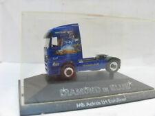 HERPA Mercedes Benz Actros LH Euroliner Diamond in blue VP 1:87 // II 991