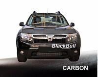 Haubenbra für Dacia Duster Car Bra Steinschlagschutz Tuning & Styling CARBON