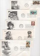US FDC 1971 Year Set 30 First Day Covers All Cacheted All Unaddressed |