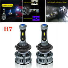 H7 12V 60W 7200LM LED Universal Car Headlight Bulbs Fog Lamp Devil Eye Day Light