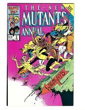 New Mutants Annual 2, VF/NM 9.0, Marvel 1986, 1st App Psylocke, Chris Claremont
