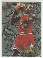 MICHAEL JORDAN 1995-96 Fleer METAL Nuts & Bolts #212 Chicago Bulls Mint HOT