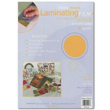 Grafix Laminating Film .002 9X12 Pkg 4
