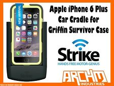 STRIKE ALPHA APPLE IPHONE 6 PLUS CAR CRADLE FOR GRIFFIN SURVIVOR CASE - CHARGER