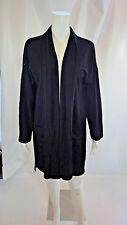 Eileen Fisher NWT Long Sleeve Kimono Cardigan  Jersey Black Size S