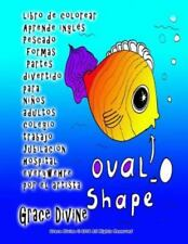 Libro de Colorear Aprende Inglés Pescado Formas Partes Divertido para niños...