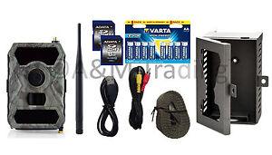 X-view Wildkamera MMS-GPRS-3G-MAIL | Full HD I 12MP I IR 940nm black LED I OVP