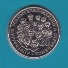 2003 20 Twenty Cent UNC Uncirculated Coin ex Mint Set Australia Year Volunteers