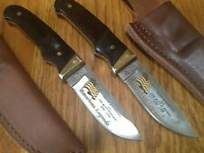 2 (TWO) SCHRADE+ PH1 USA KNIVES: AMERICAN LEGENDS TEDDY ROOSEVELT