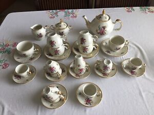 Vintage Flower Tea Set, Excellent condition