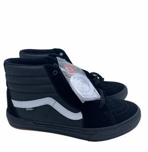 Vans Sk8-Hi Pro BMX Black White Classic shoes Waffle Cup Cushion NWB