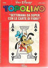 TOPOLINO N° 1909 - 28 GIUGNO 1992